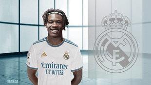 Oficial: Camavinga, nuevo jugador del Real Madrid