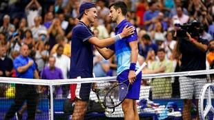 Djokovic and Rune