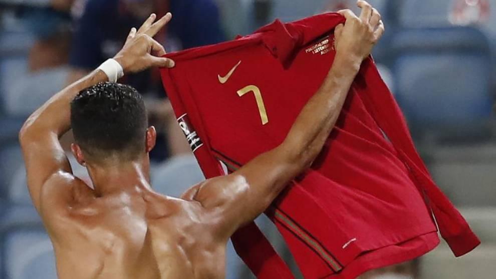 Portugal perdía en el 89' y CR7 lo gana: ya es máximo goleador e selecciones