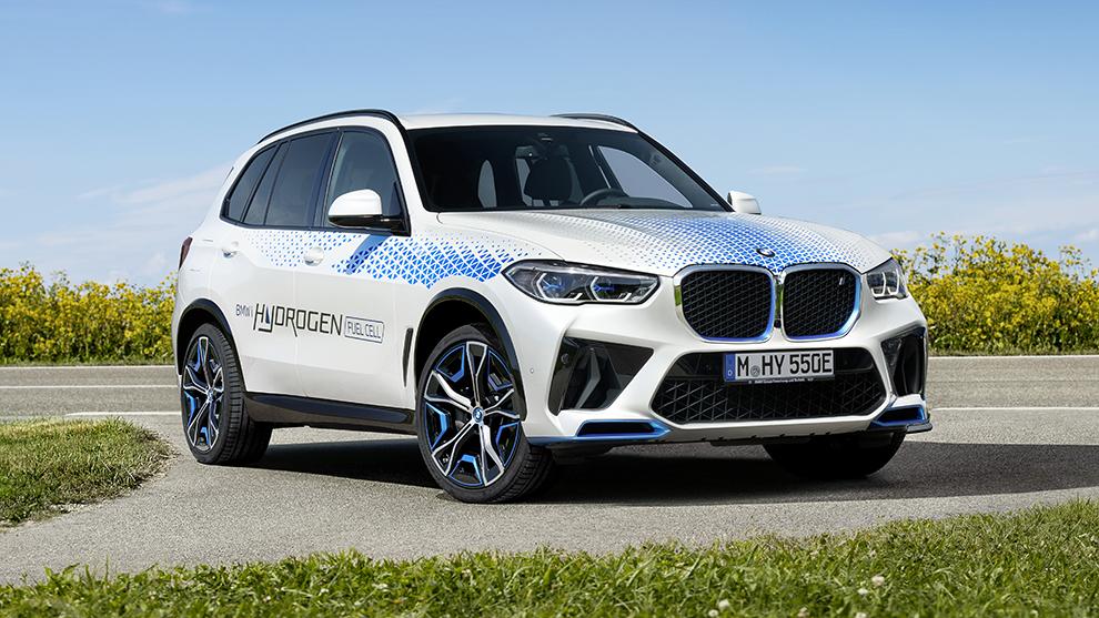 BMW iX5 Hydrogen - Salón de Munich 2021 - IAA Munich 2021 - novedades - lanzamientos - movilidad eléctrica