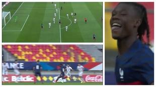 El primer gol de Camavinga como madridista: ¡zurdazo y a la jaula!