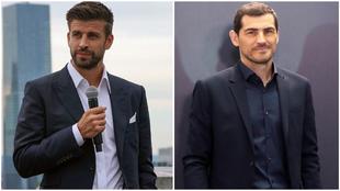 Gerard Piqué (34) e Iker Casillas (40) entre los 100 empresarios...