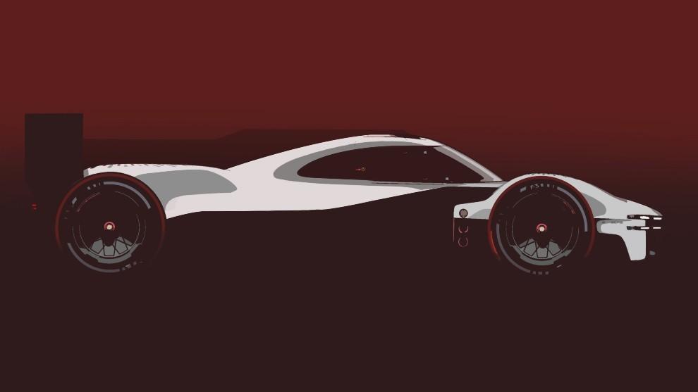 Porsche - Salon de Munich 2021 - IAA 2021 - prototipo - Le Mans - competicion - LMDh