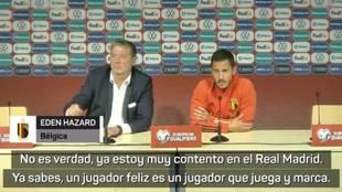 ¿Dardo de Hazard por su suplencia en el Madrid?