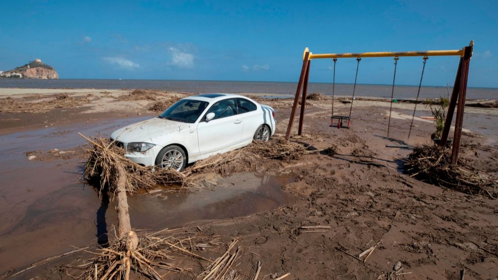 DANA - riada - reclamar daños - consorcio de compensacion de seguros - coches