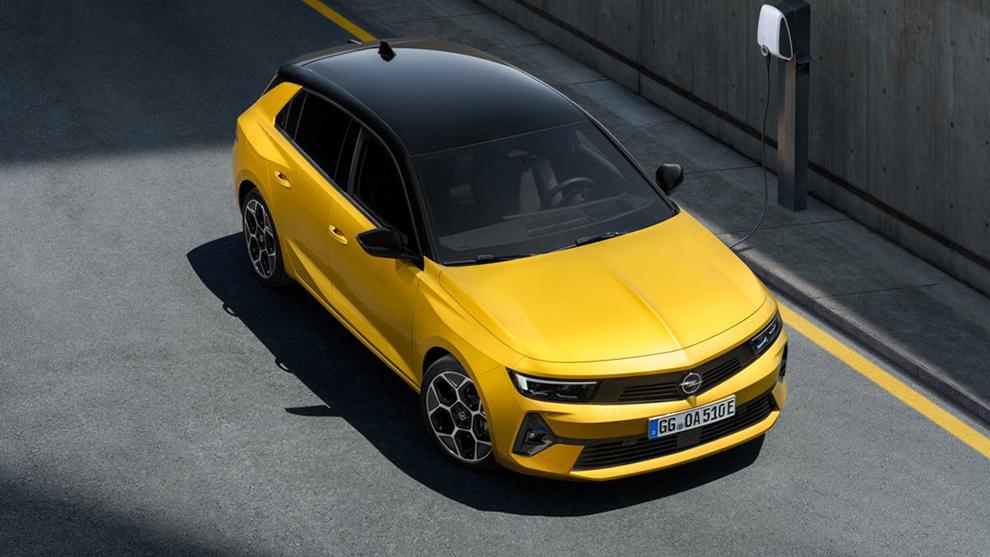 Opel Astra 2022 - compacto - Astra-e - híbrido y eléctrico - sexta generación