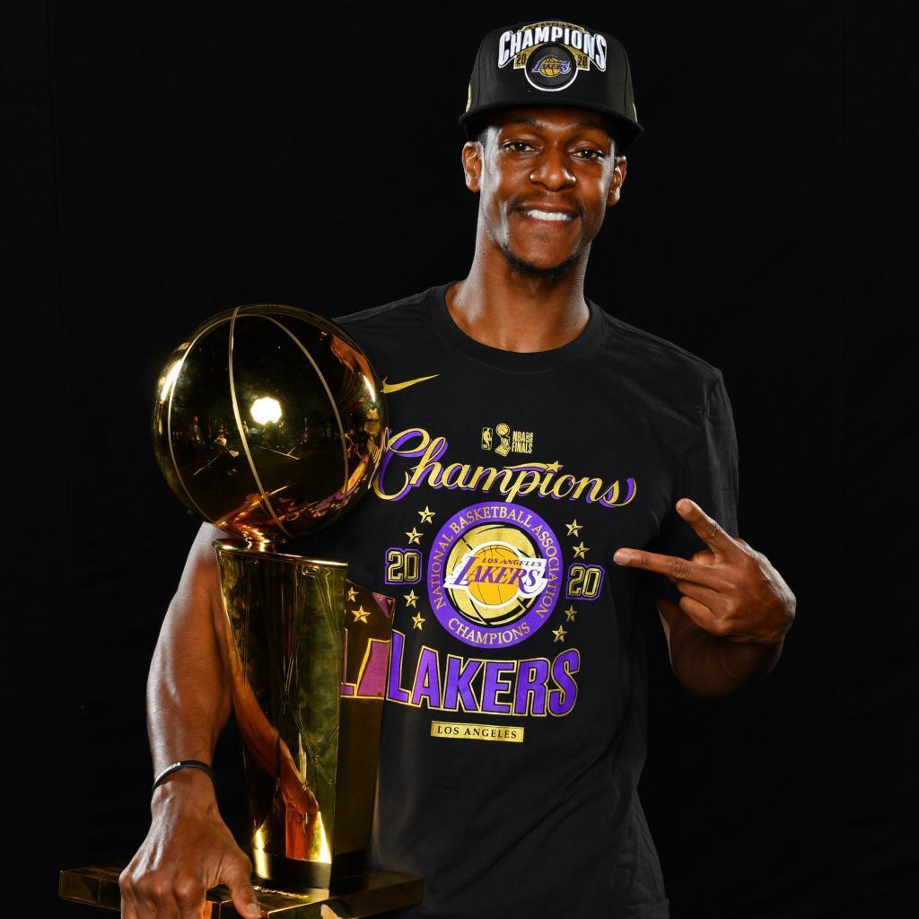 Rajon Rondo vuelve a los Lakers, con quienes ganó el campeonato en 2020.