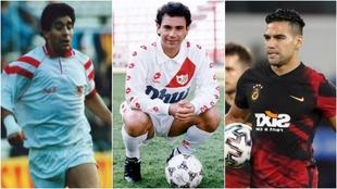 Diego Armando Maradona, Hugo Sánchez y Radamel Falcao han sido...