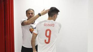 Gerard Moreno abandona la concentración