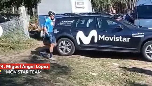 Supermán López se rebela tras perder el podio