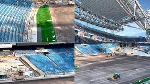 Así avanzan las obras del Bernabéu: los asientos están listos para la vuelta de LaLiga