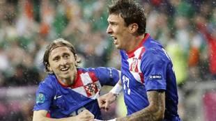 Modric y Mandzukic o cómo dos amigos se pueden distanciar por un tema de orgullo