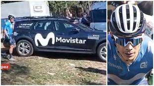 """Terremoto Movistar: """"Cuando tu mismo equipo te dice que te bajes del podio..."""""""