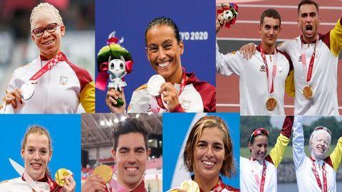 España cierra con 36 medallas los Juegos Paralímpicos de Tokio