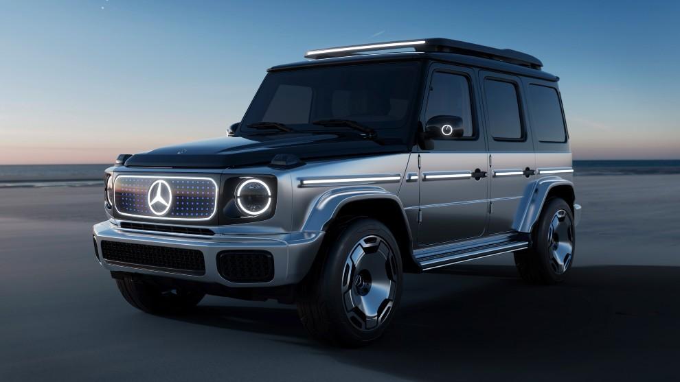 Mercedes-Benz EQG Concept - Clase G electrico - 4x4 - Salon de Munich...