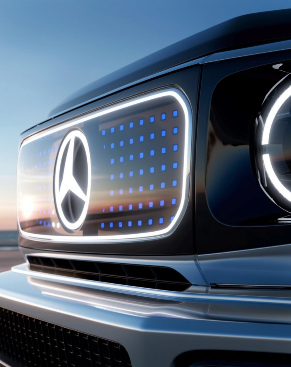 Mercedes-Benz EQG Concept - Clase G electrico - 4x4 - Salon de Munich - IAA 2021