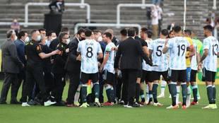 La explicación de por qué se ha parado el Brasil - Argentina