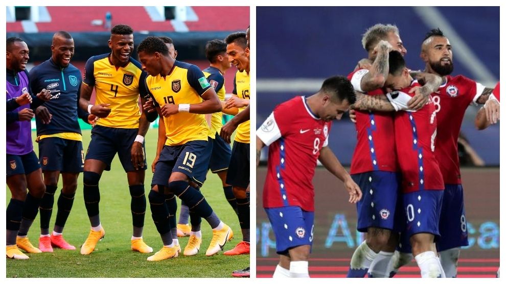 Ecuador-Chile, en directo
