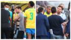 La desesperación de Messi... y la intermediación de Neymar