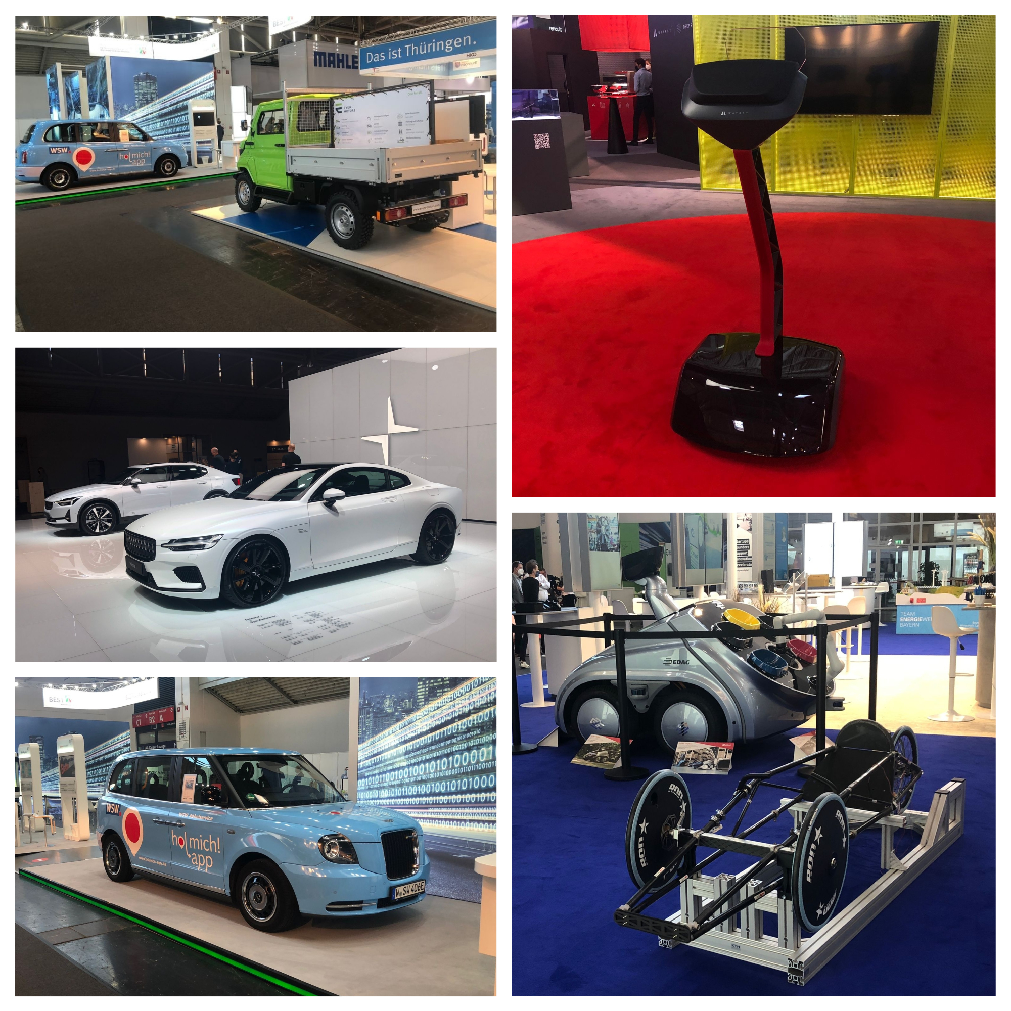 Salon del automovil de Munich - IAA 2021 - novedades - estrenos  - en directo