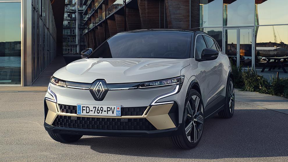Renault Megane E-Tech Electric - megane electrico - salon de munich - IAA 2021 -