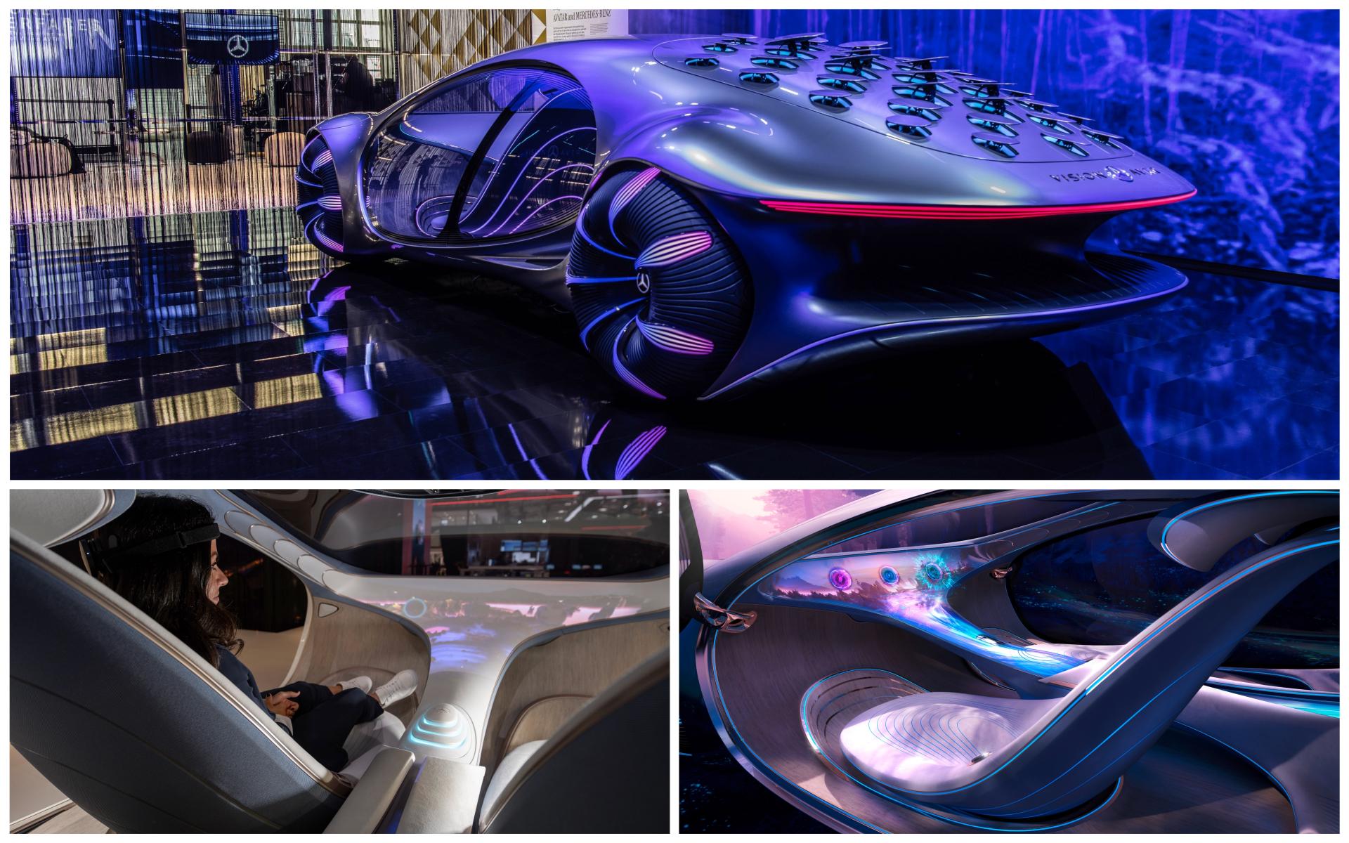 Salon del automovil de Munich - IAA 2021 - novedades - estrenos  - en directo - Mercedes AVTR
