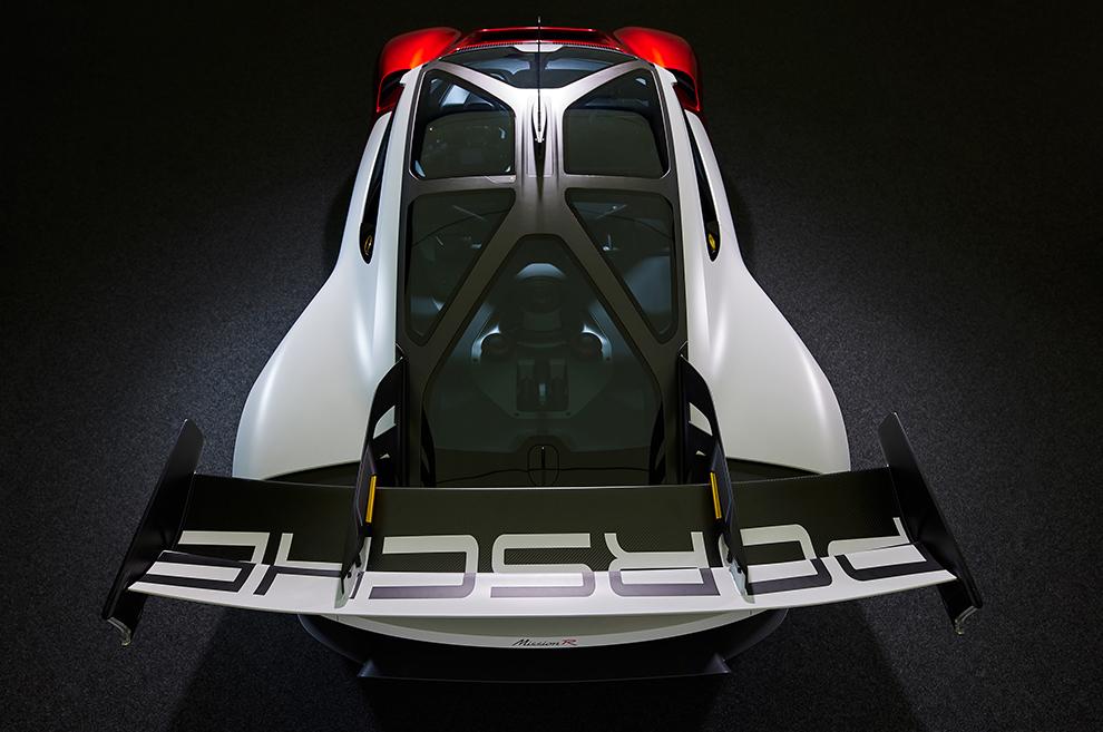 El Porsche Mission R, en imágenes