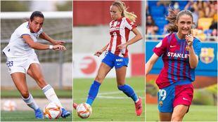 Lucía Rodríguez, Maitane López y Bruna Vilamala.
