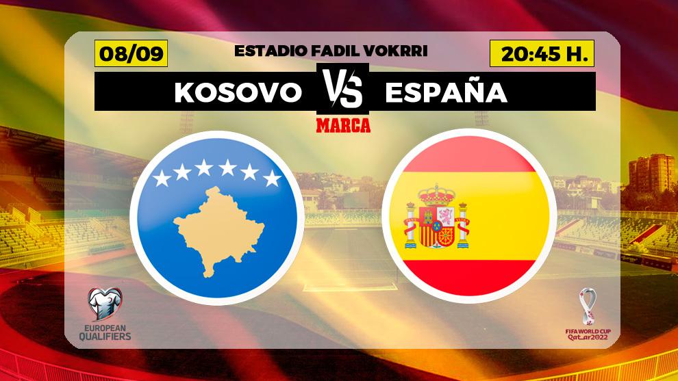 Kosovo - España en directo