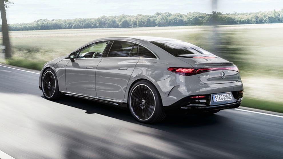 Mercedes EQE - clase E electrico - berlina electrica - Salon de Munich 2021 - IAA 2021