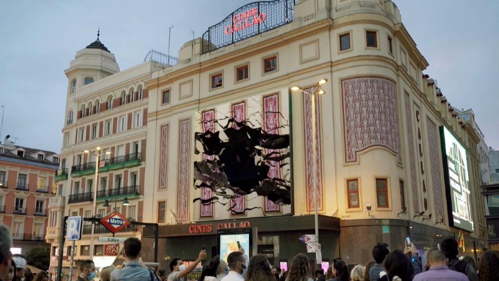 Skoda Enyaq - 3D - Cines callao - realidad aumentada - realidad virtual