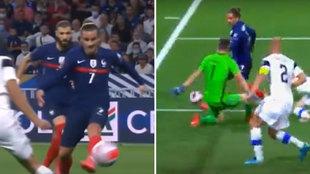 Griezmann ya vuelve a ser 'el del Atleti': ¡pero qué dos golazos con Francia!