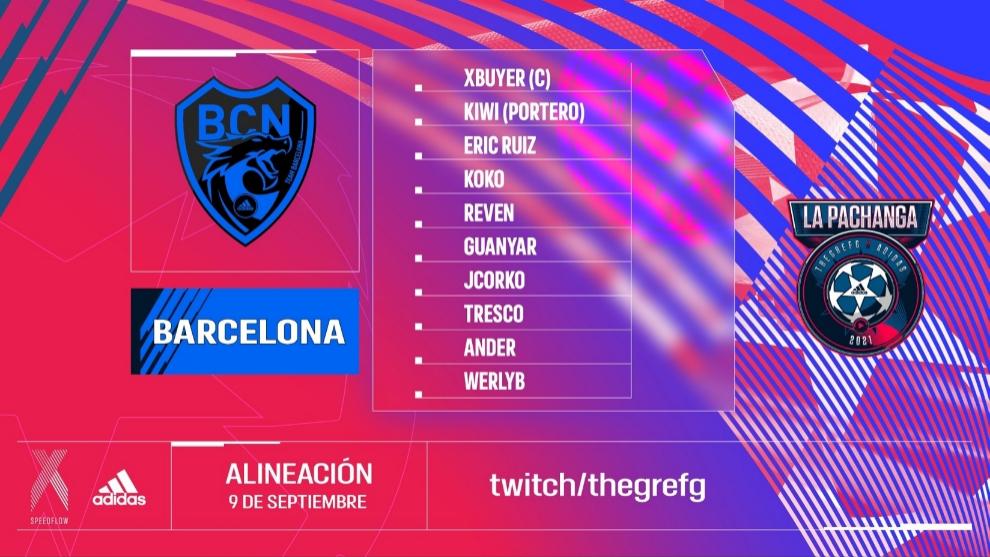 team barcelona pachanga the grefg