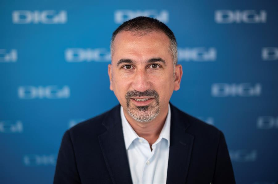 El consejero delegado en España de Digi, Marius Varzaru /