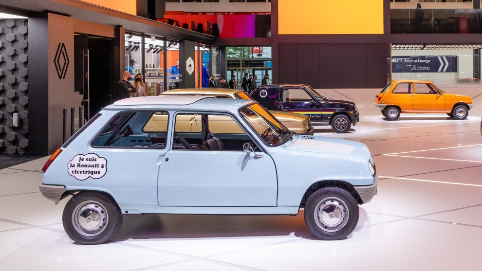 Renault 5 Prototype - renault 5 electrico - Salon de Munich - EDF - coches electricos