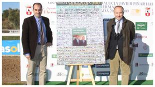 Julio Díez y Fernando González, fundadores de A Galopar.