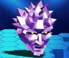 Polygon Man, el primero boceto de mascota para PlayStation