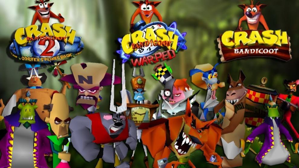 Crash Bandicoot 1, 2 y 3
