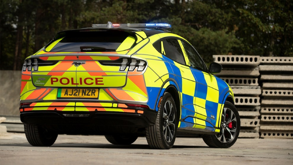 Ford Mustang Mach-e Police Car - coches de policia - prototipo