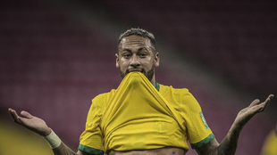 Foto subida por Neymar (29) a sus redes sociales a modo de respuesta...