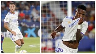 Hazard Vinicius Real Madrid