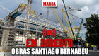 Directo desde el interior del Bernabéu: así está a 48 horas