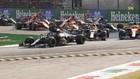 Bottas doble primero en la Primera Variante por delante de Verstappen,...