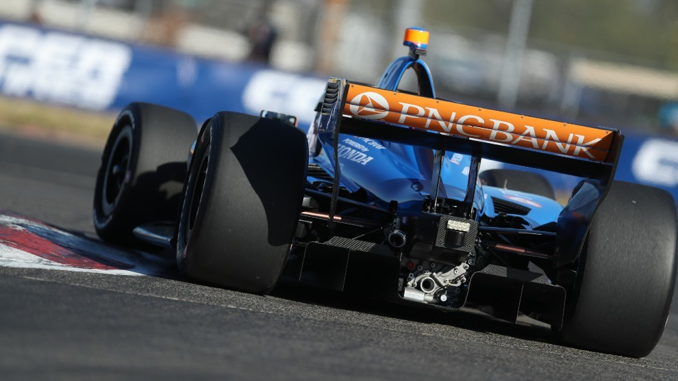 Alex Palou - Portland GP - clasificación - Ganassi - Indycar
