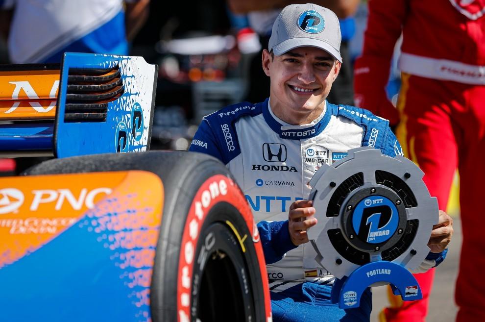 Alex Palou - Portland GP - pole position - clasificación - Ganassi - Indycar