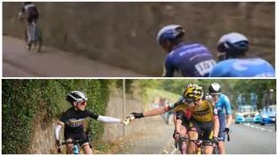 El sprint del niño ciclista que emociona en el Tour de Gran Bretaña
