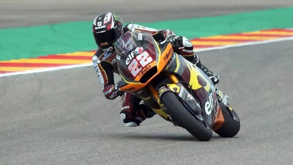 Sam Lowes, pole en Moto2, en Aragón
