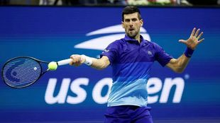 Djokovic at the US Open