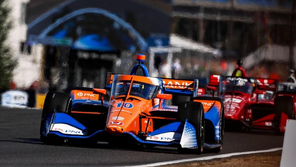 Alex Palou - Portland GP - victoria- Indycar - Ganassi