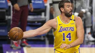 Marc Gasol, cerca de pasar de los Lakers a la LEB